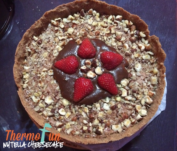 ThermoFun – Nutella Cheesecake Recipe