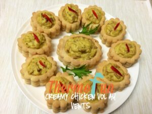 ThermoFun Creamy Chicken Vol Au Vents