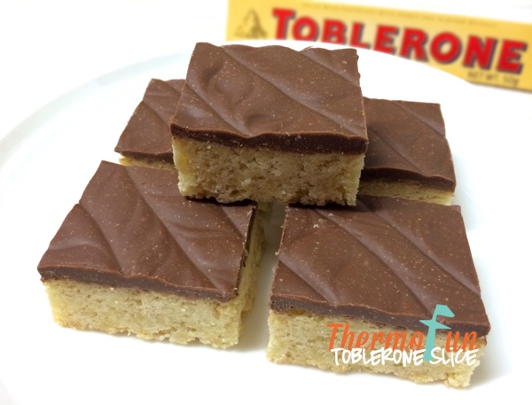 ThermoFun – Toblerone Slice Recipe