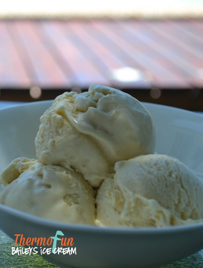 ThermoFun – Baileys Ice Cream Recipe