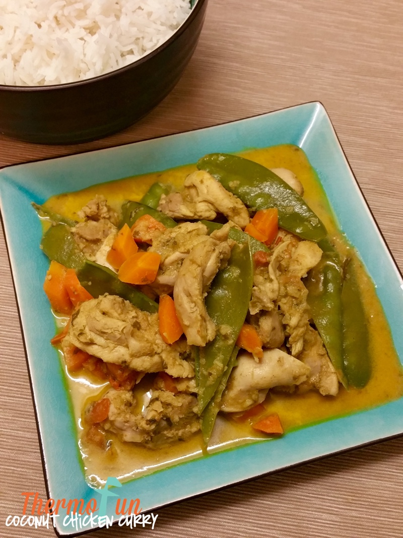 ThermoFun – Coconut Chicken Curry Recipe