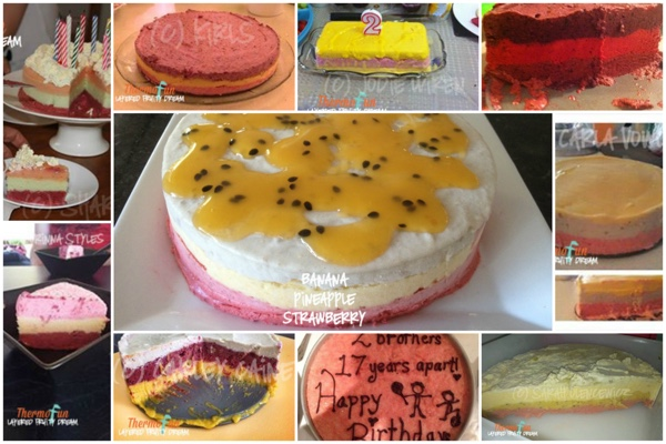 ThermoFun – Layered Fruity Dream Ice Cream Cake Ideas