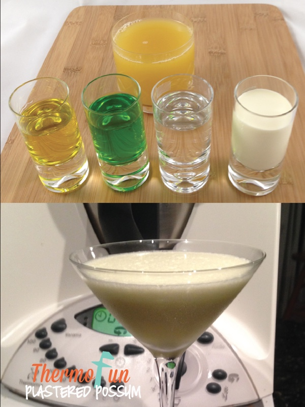 Thermofun plastered possum cocktail recipe thermofun for Cocktail thermomix