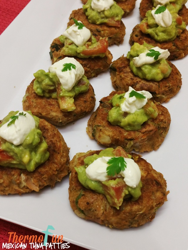 ThermoFun – Mexican Tuna Patties Recipe