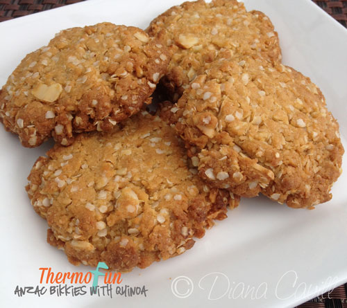 ThermoFun – Quinoa Anzac Biscuits Recipe