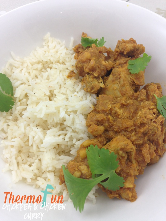 Chickpea and Chicken Curry – Week 29, 2014