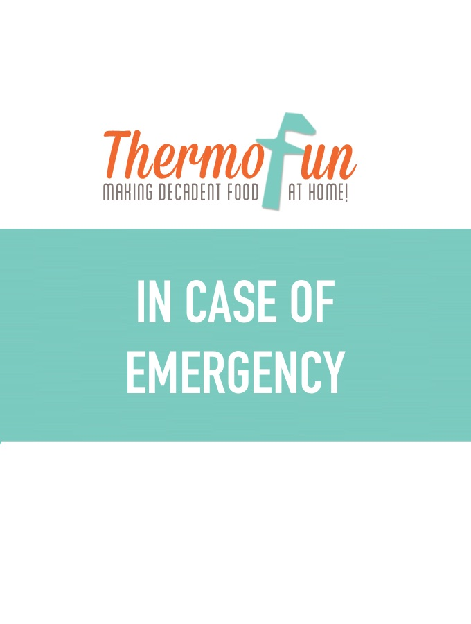 ThermoFun – In Case of Emergency