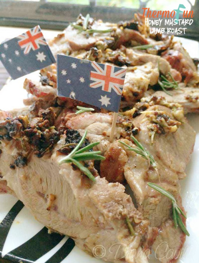 Honey Mustard Lamb Roast Recipe