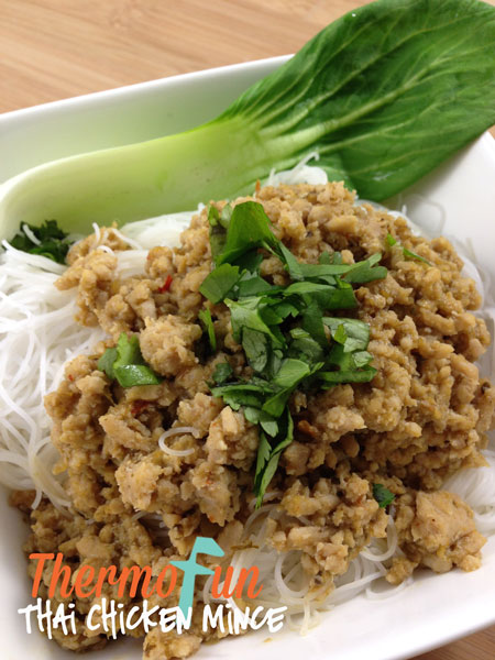 Thai Chicken Mince – Week 30, 2014