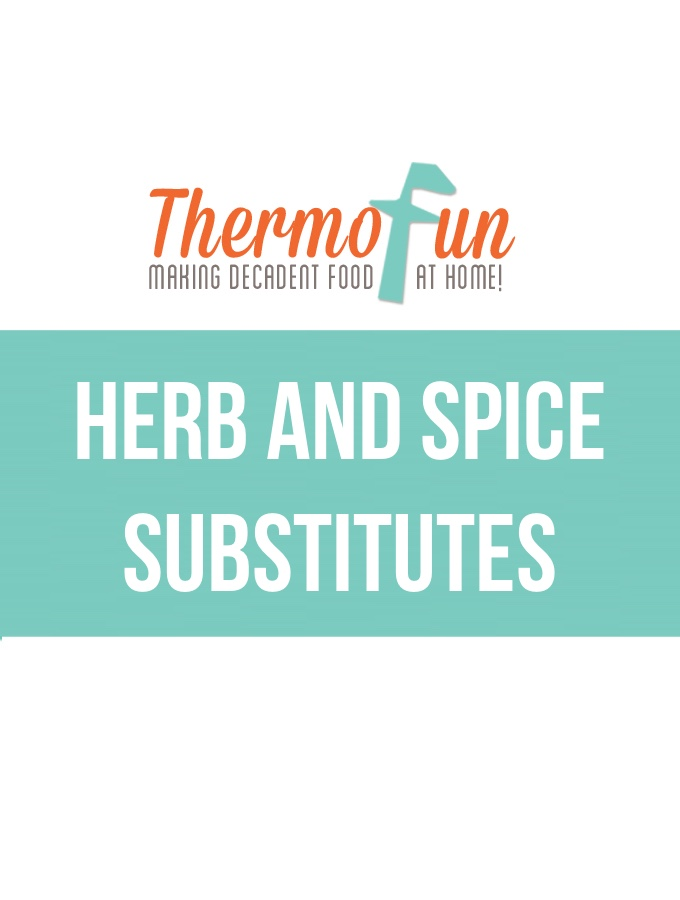 ThermoFun – Herb & Spice Substitutes