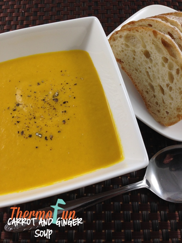 Carrot and Ginger Soup – Week 34, 2014