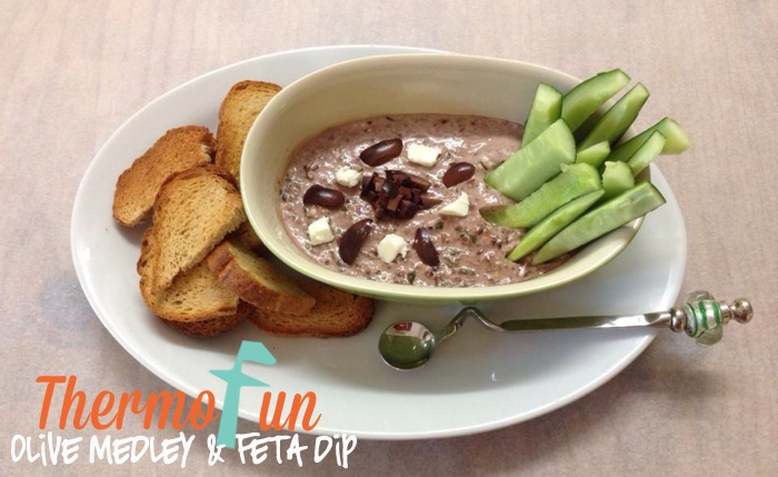 ThermoFun – Olive Medley and Feta Dip Recipe