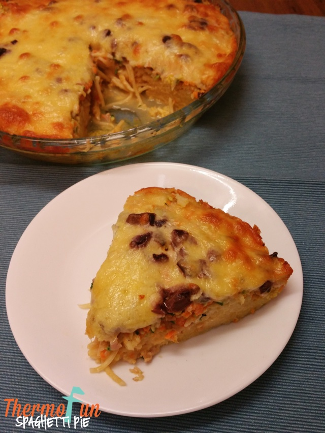 Cheese, Bacon and Spaghetti Pie – Week 46, 2014