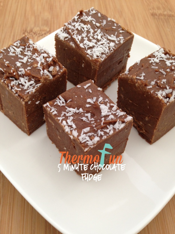 5 Minute Chocolate Fudge