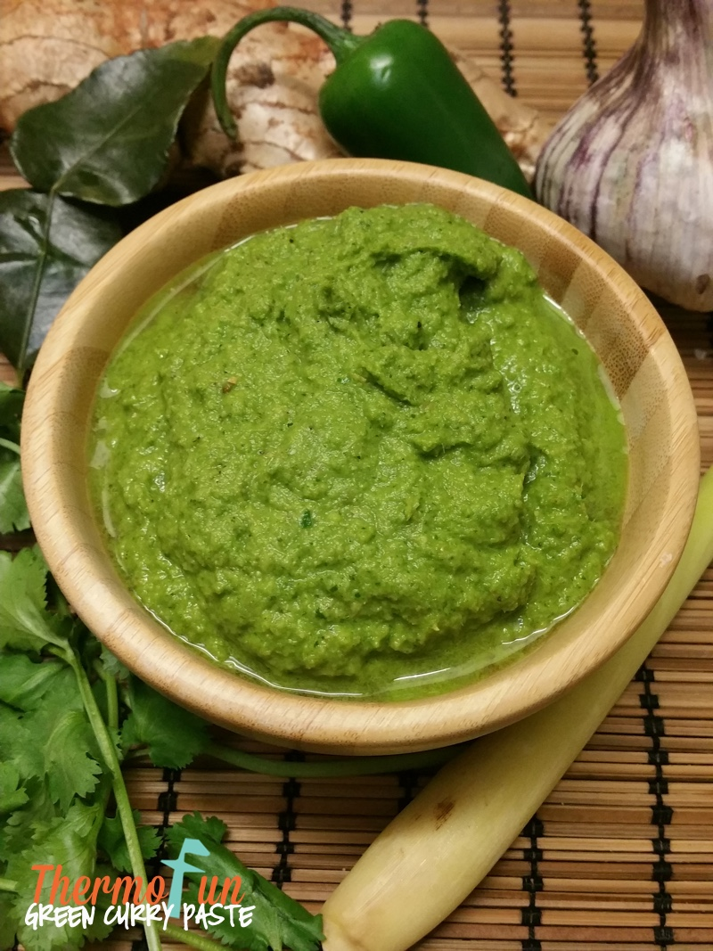 ThermoFun – Green Curry Paste