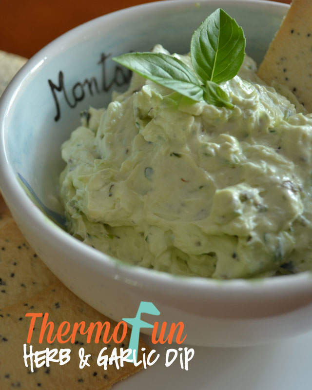 ThermoFun – Herb and Garlic Dip Recipe