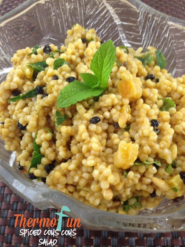 Spiced Couscous Salad – Week 4, 2015