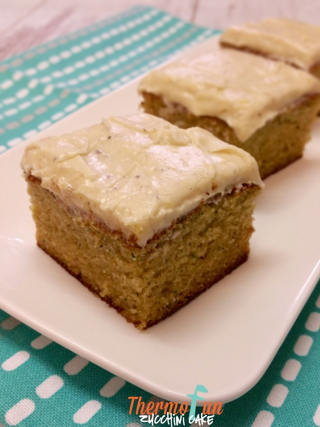 ThermoFun – Zucchini Cake Recipe