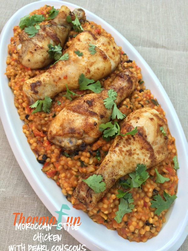 Moroccan-Style Chicken with Pearl Couscous – Week 13, 2015