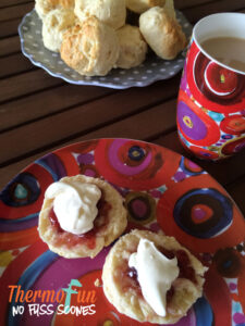 Thermomix Scones - No Fuss Scones ThermoFun