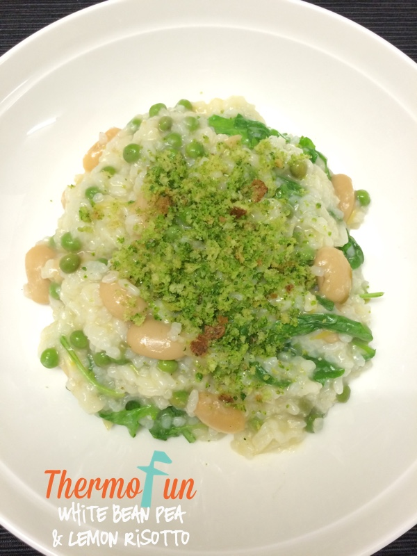 White Bean, Pea and Lemon Risotto – Week 12, 2015