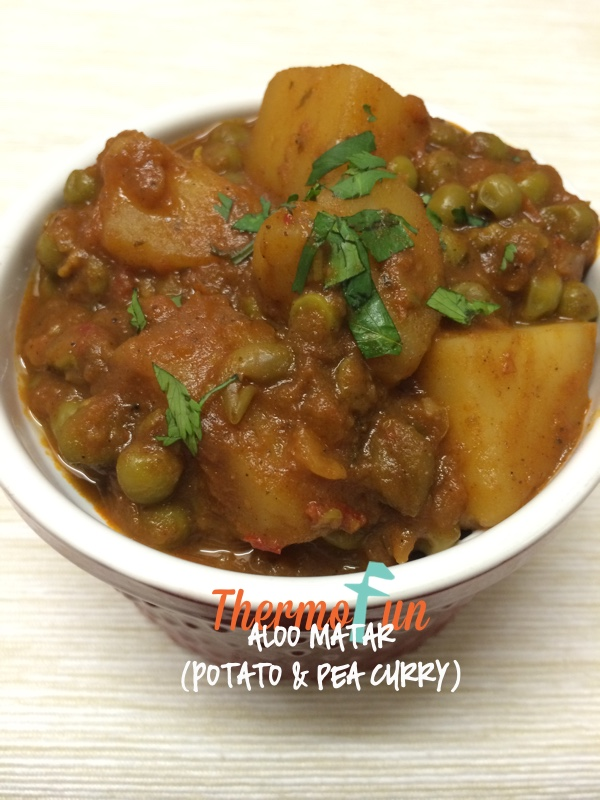 Aloo Matar (Potato & Pea Curry) – Week 19, 2015