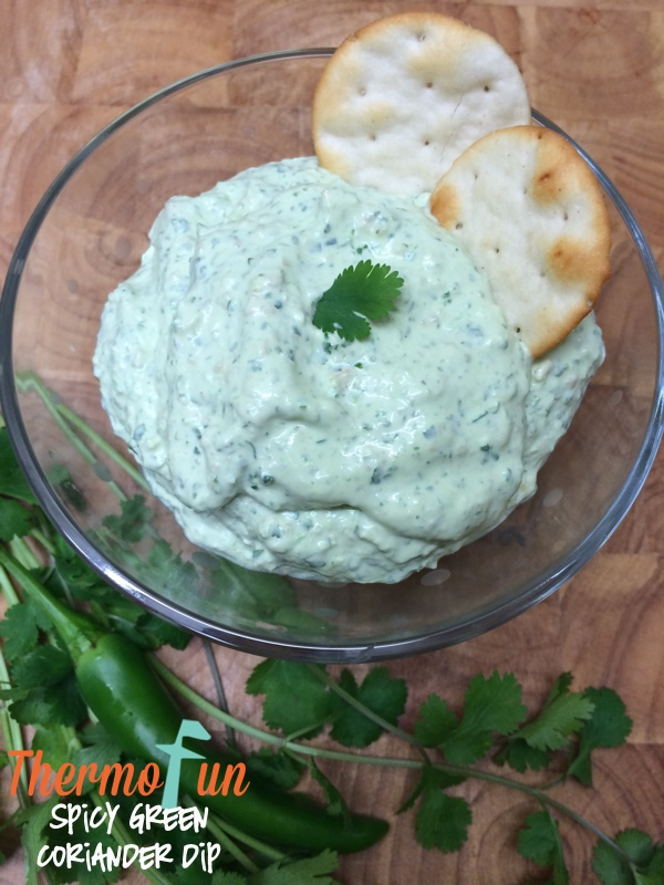 Spicy Green Coriander Dip – Week 18, 2015