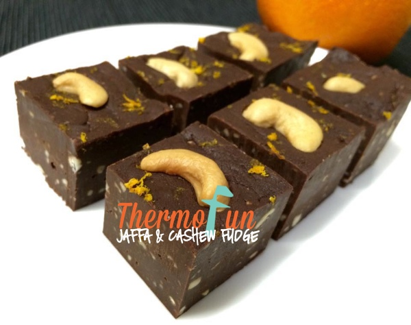 Wicked Wednesday – Jaffa and Cashew Fudge Recipe
