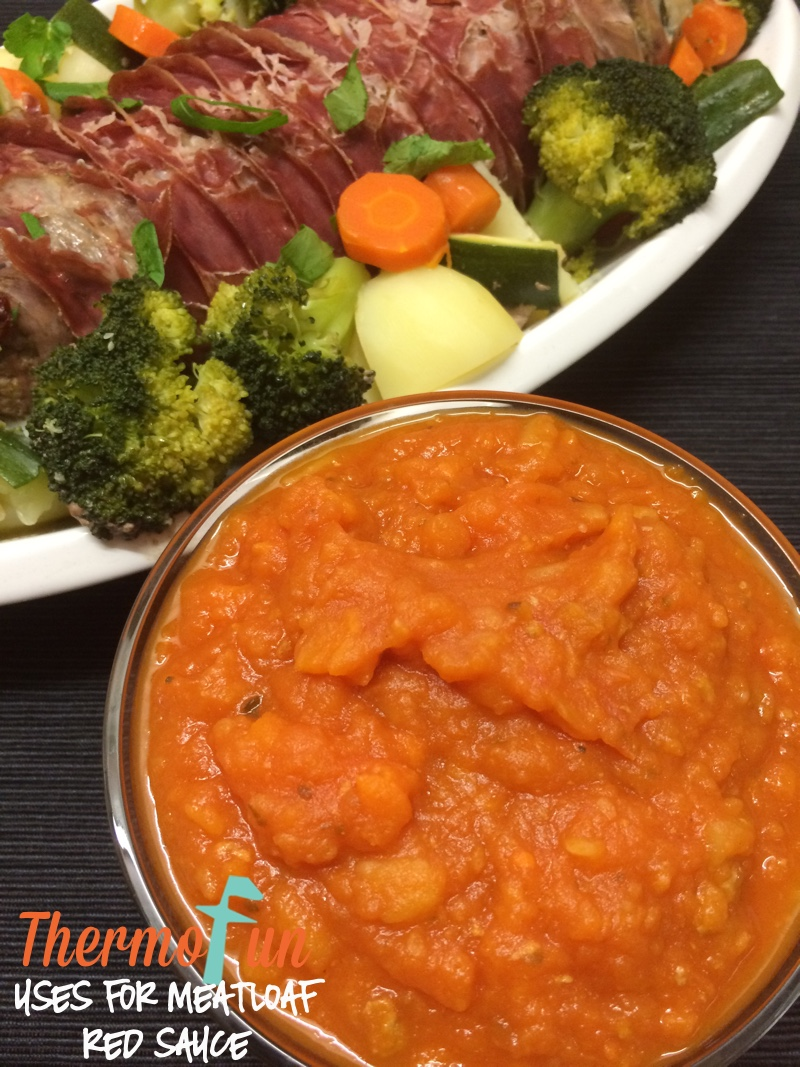 Uses for Meatloaf Red Sauce