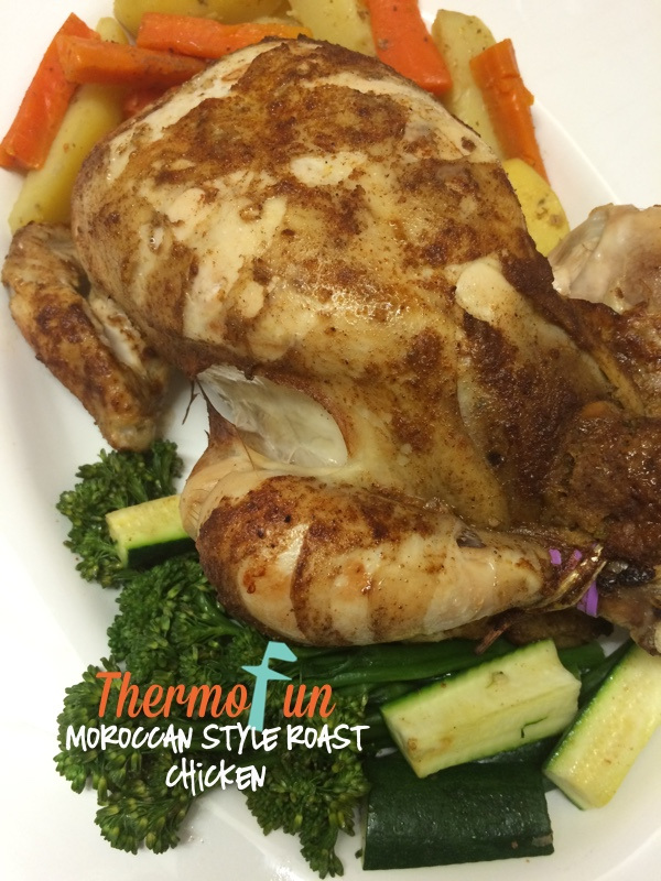 Moroccan Style Roast Chicken Recipe | ThermoFun | Thermomix Recipes ...
