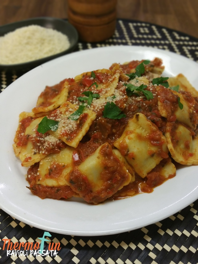 MAD MONDAY – Ravioli Passata Recipe - ThermoFun