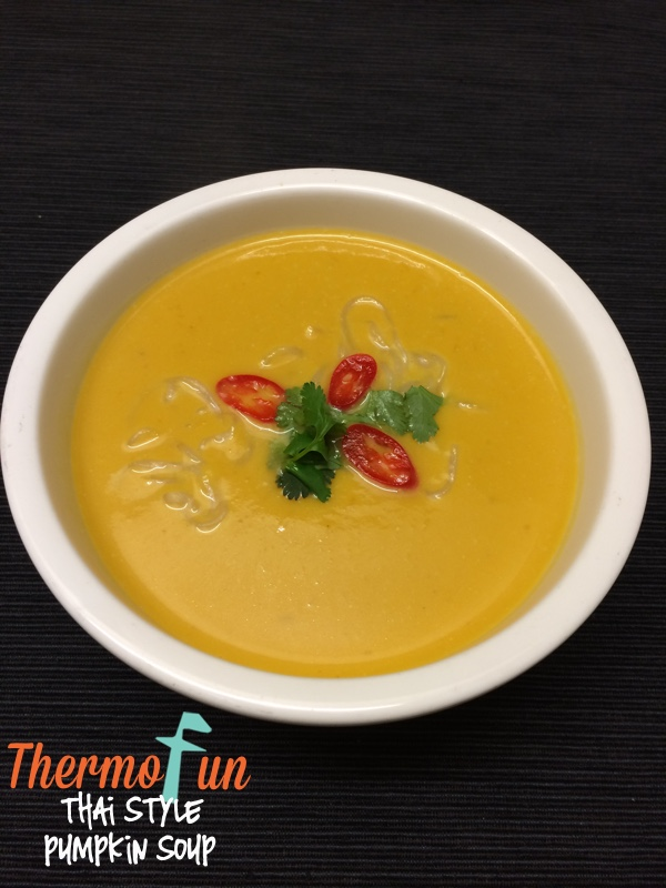 Thai Style Pumpkin Soup – Week 22, 2015