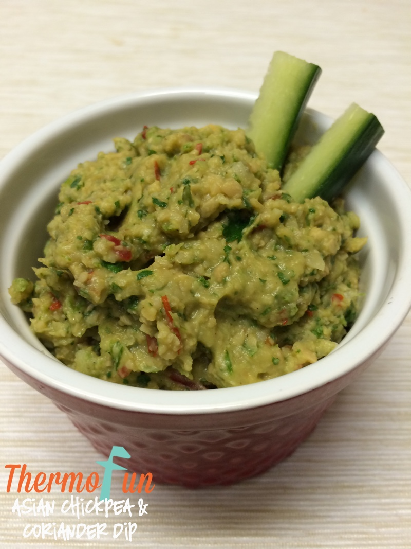 Asian Chickpea and Coriander Dip – Week 30, 2015