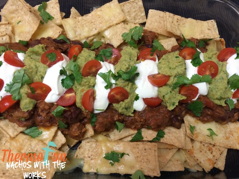 Nachos with the Works Recipe
