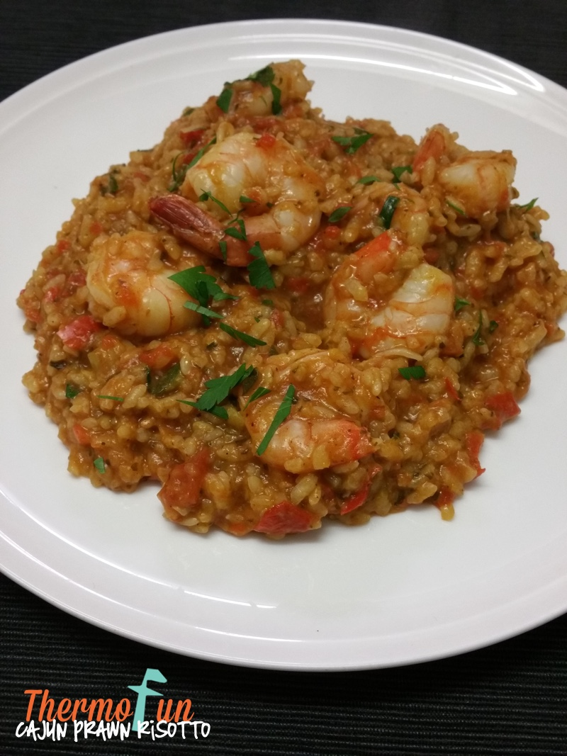 Cajun Prawn Risotto – Week 35, 2015
