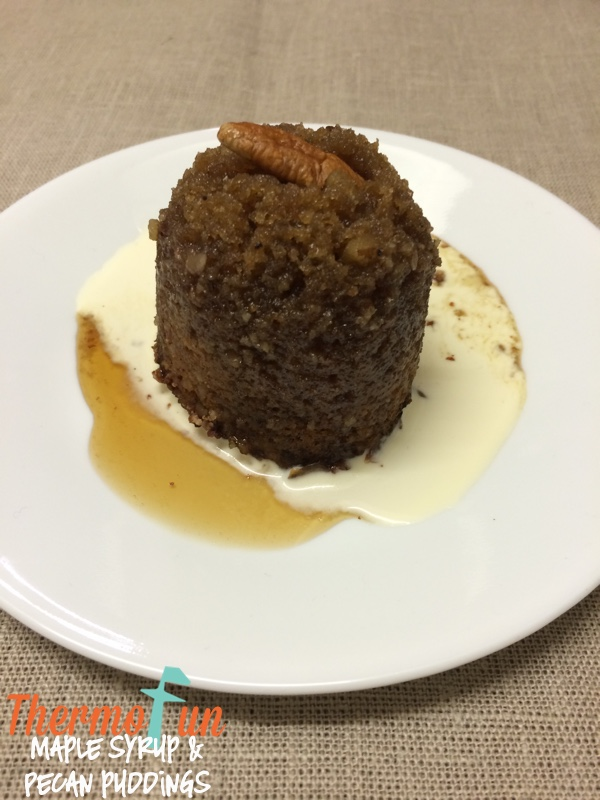 Wicked Wednesday – Maple Syrup & Pecan Steamed Puddings Recipe
