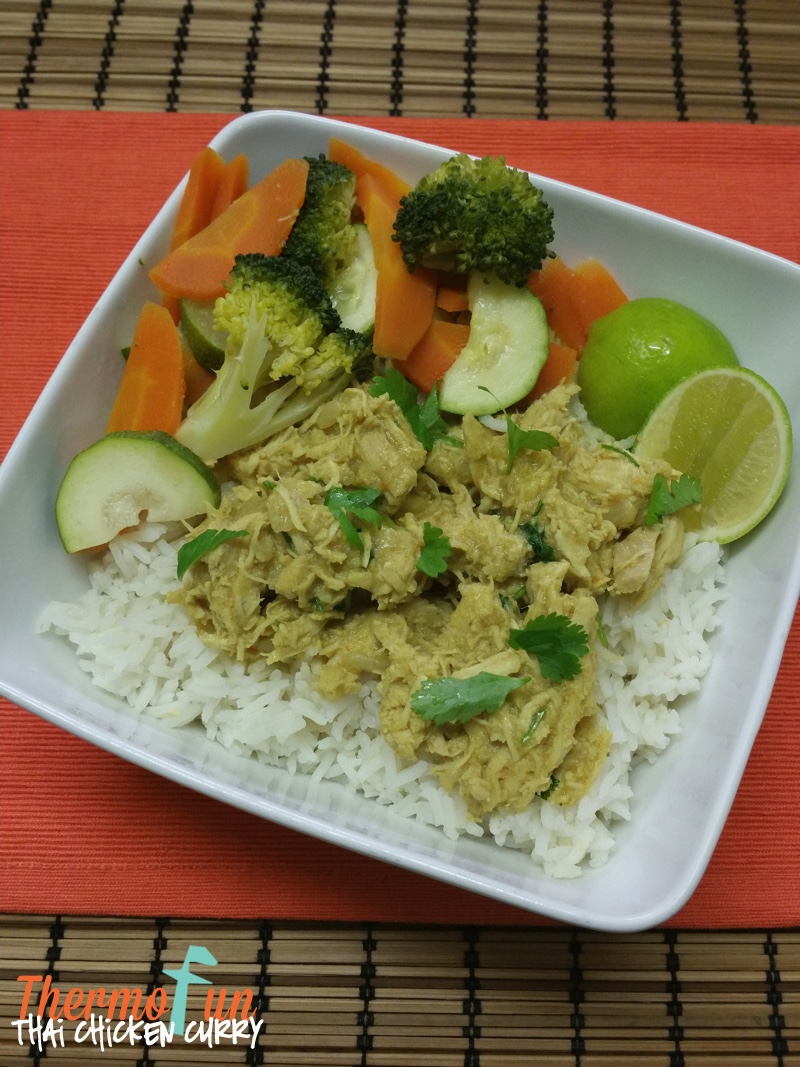 Thai Chicken Curry – Week 32, 2015
