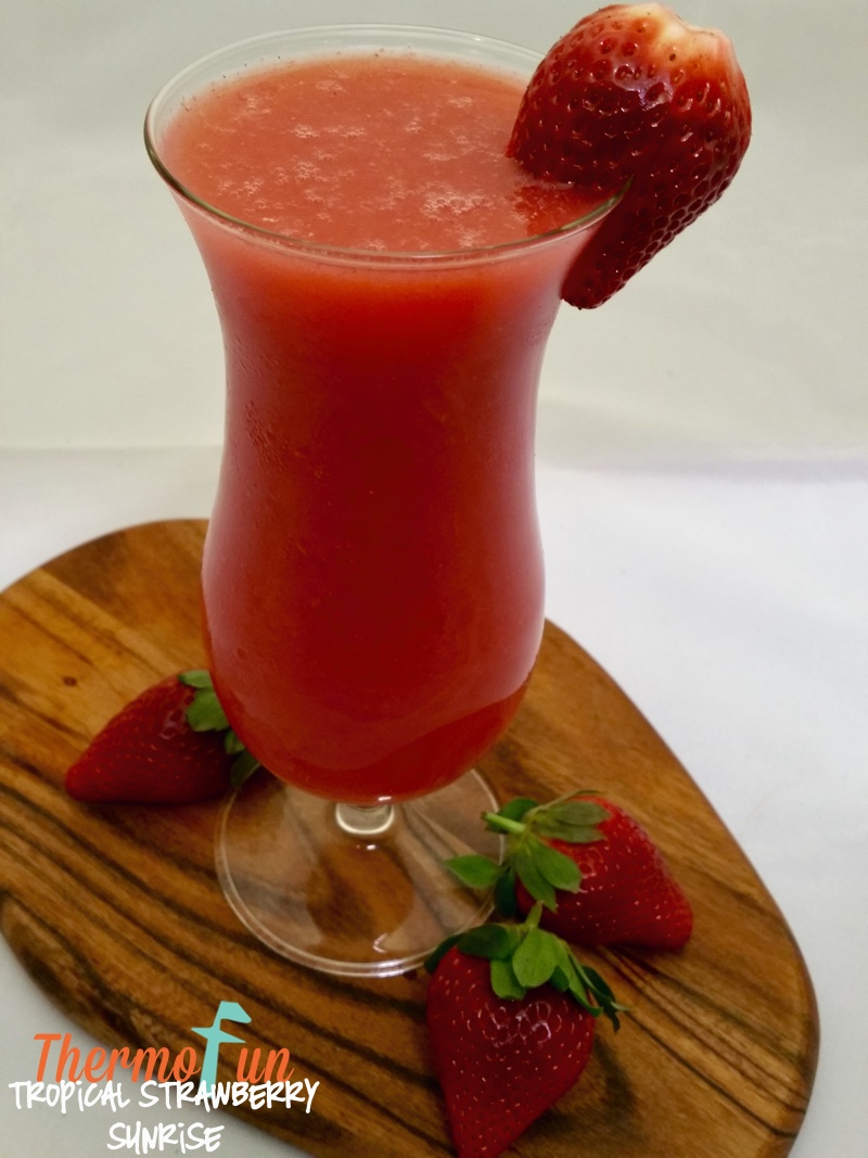 Tropical Strawberry Sunrise – Week 41, 2015