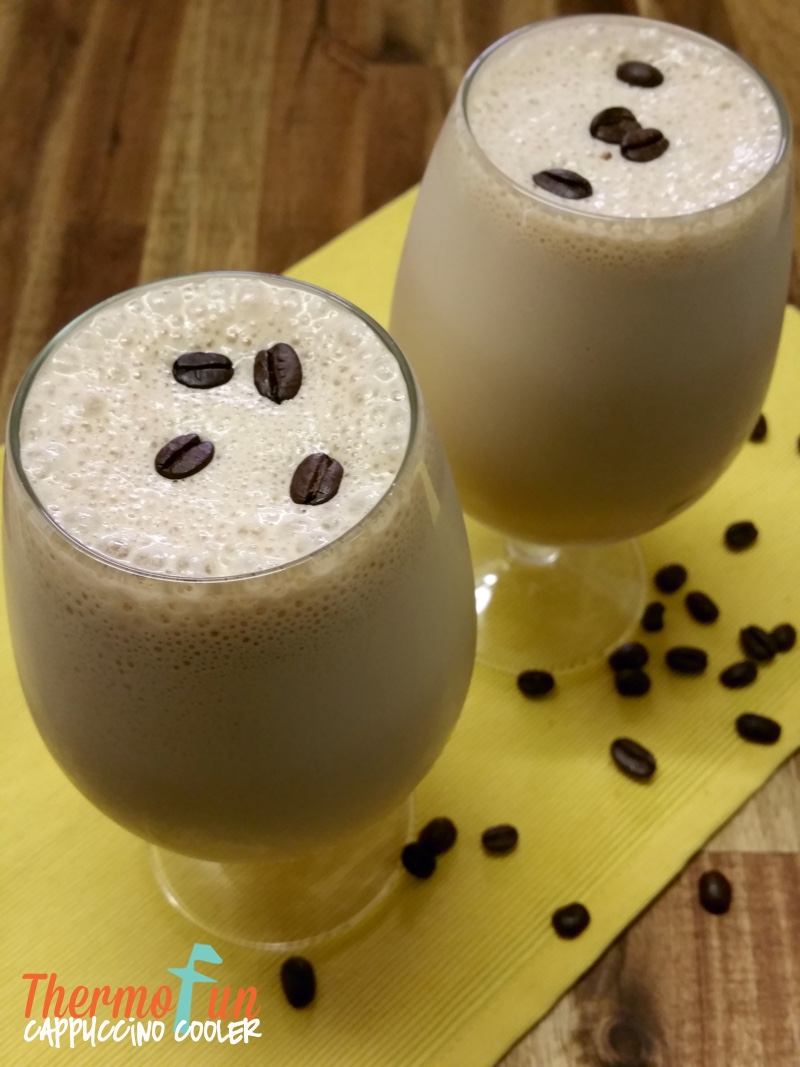 Thirsty Thursday – Cappuccino Cooler Recipe