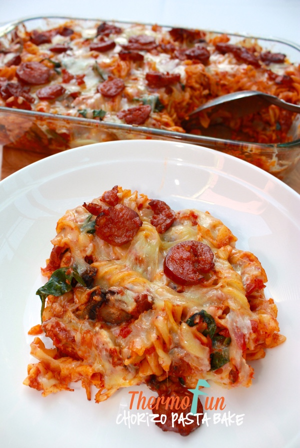 Chorizo Pasta Bake – March 2015 Cook Along