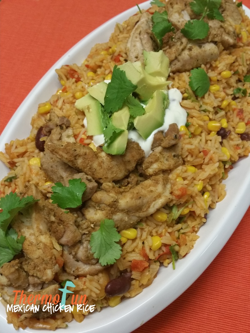 Mexican Chicken Rice – Week 48, 2015
