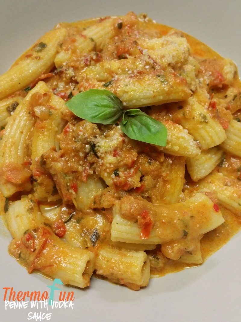 Mad Monday – Penne with Vodka Sauce Recipe – ThermoFun
