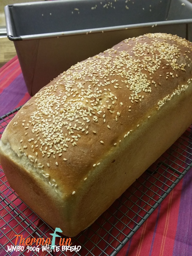 Lailah's Jumbo 900g White Bread Recipe - ThermoFun