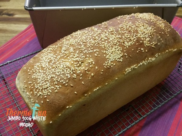 ThermoFun Member Spotlight – Jumbo 900g White Bread Recipe