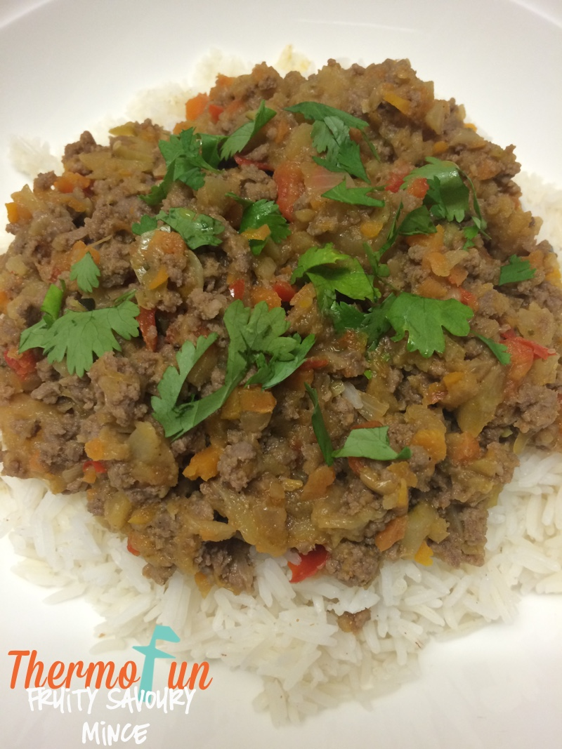 Fruity Savoury Mince – Week 51, 2015