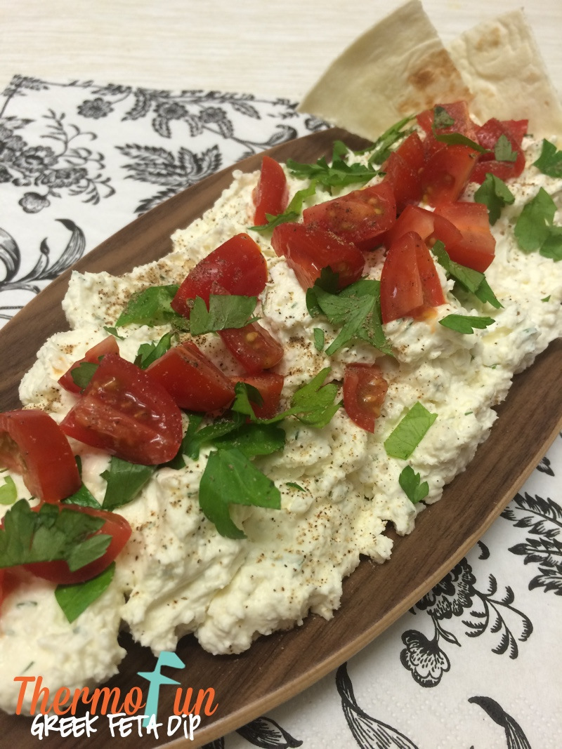 Thermomix Greek Feta Dip - ThermoFun