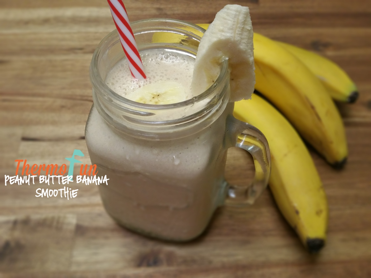 Peanut Butter Banana Smoothie – Week 50, 2015