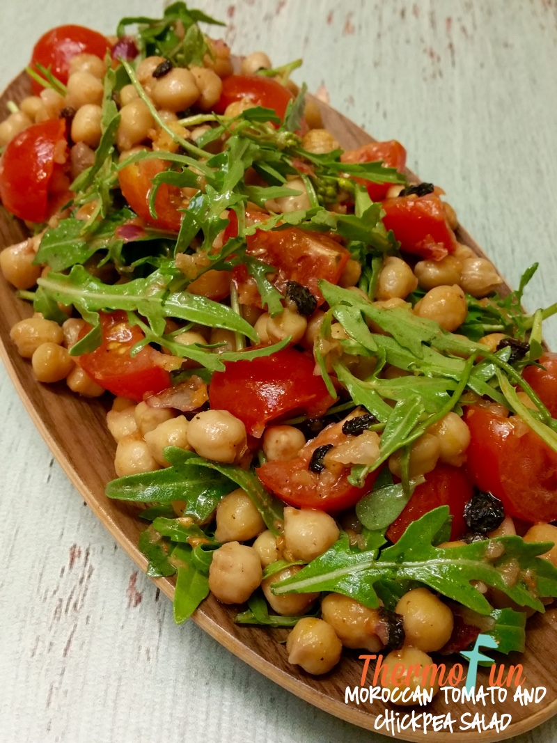 Moroccan Tomato Chickpea Salad – Week 5, 2016