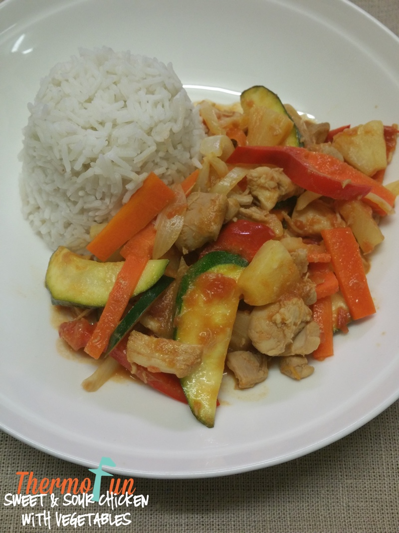 Sweet & Sour Chicken with Vegetables – ThermoFun