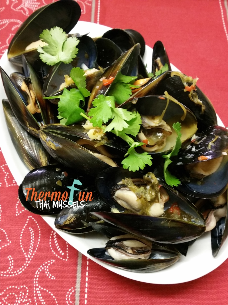 Thai Mussels – Week 7, 2016